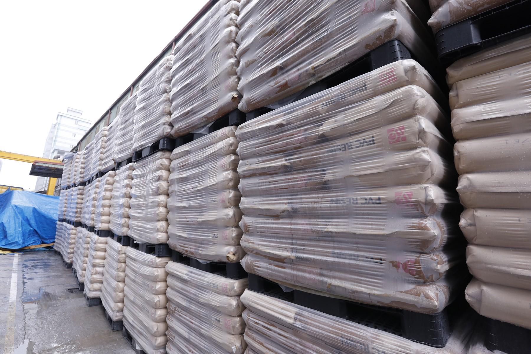 Raw Materials Storage